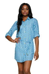 SHIRT DRESS-PALM SPRINGS