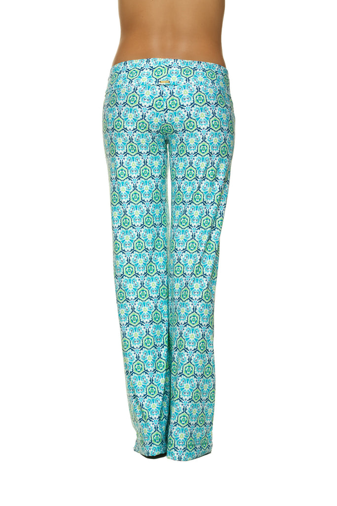 FOLD-OVER BEACH PANT-LANI KAI