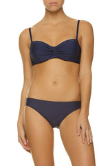 D-CUP TWIST UNDERWIRE BRA-NAVY