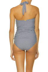 CONVERTIBLE RETRO TANKINI-WHITE SANDS