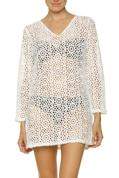 MARIMAR TUNIC-WHITE