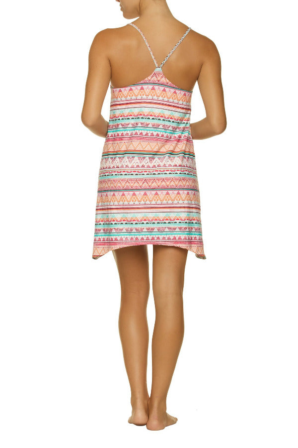 SEASIDE DRESS-SOUTH PACIFIC