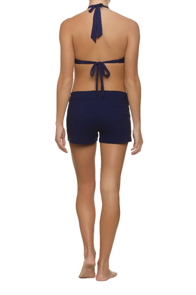 "3"" LACE-UP BOARD SHORT - NAVY"