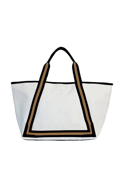 BEACH TOTE-BLACK GOLD