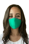 MASK W/ FOAM INSERT-KELLY GREEN MINERAL
