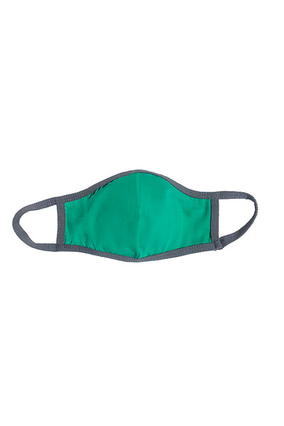 MASK W/ FOAM INSERT-GREEN MINERAL