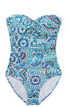 TWIST BANDEAU ONE-PIECE-HANALEI