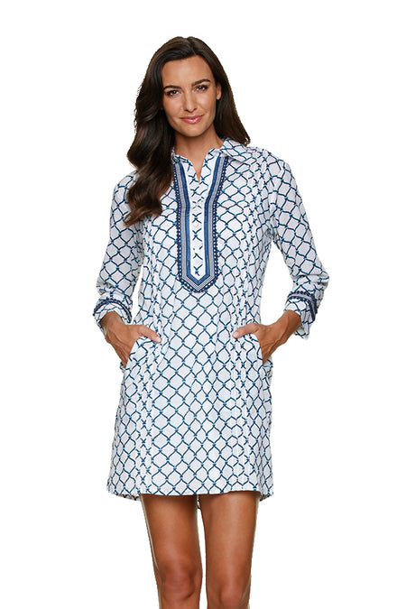 EMMA TUNIC-NAVY