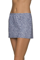 SWIM SKIRT COVER-UP-LATTICE