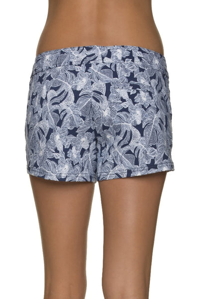 "4"" LACE-UP BOARD SHORT-ISLA SOL"