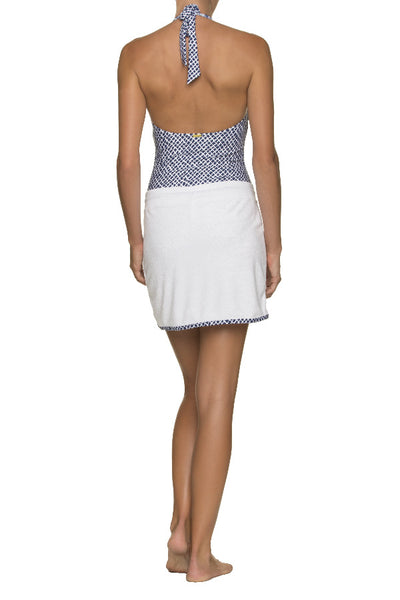 COURTNEY SKIRT TERRY COVER-UP-LATTICE