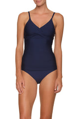 FLOATING UNDERWIRE TANKINI-NAVY