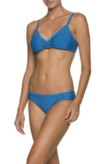 SCALLOPED FLOATING UNDERWIRE BRA-CARIBBEAN