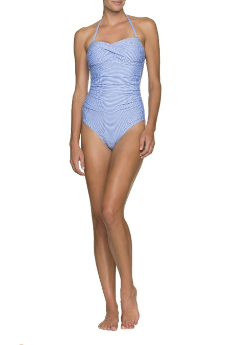 DRAPER JAMES ❤️ HELEN JON STATEMENT MAILLOT ONE-PIECE-NAVY