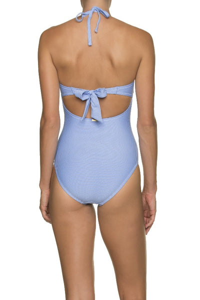 TWIST BANDEAU ONE-PIECE-ST KITTS