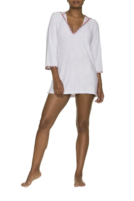 TWIST FRONT ONE-PIECE-SANTA BARBARA