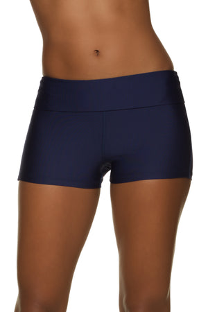 FOLD-OVER SHORT- NAVY