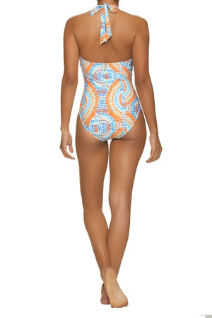 KEY HOLE ONE-PIECE-ACAPULCO