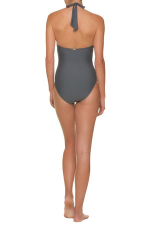 SCALLOPED KEY HOLE ONE-PIECE-MINERAL