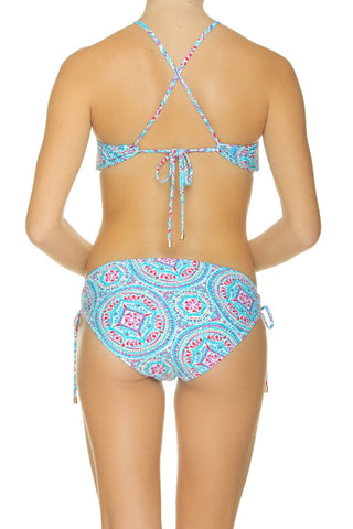 REVERSIBLE RETRO HALTER-MANDALAY
