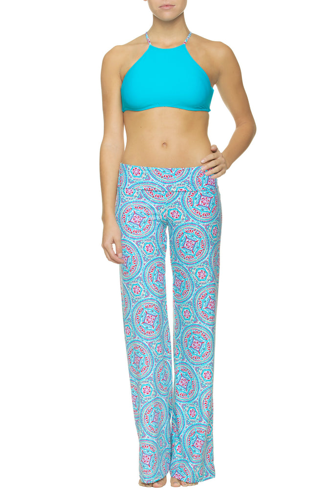 FOLD-OVER BEACH PANT-MANDALAY