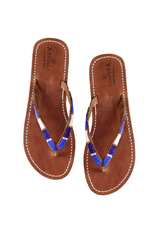 ASPIGA NAISHA SOFT SOLE SANDALS-MASAI BLUE