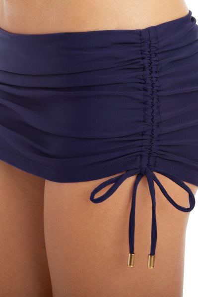 SKIRTED HIPSTER - NAVY