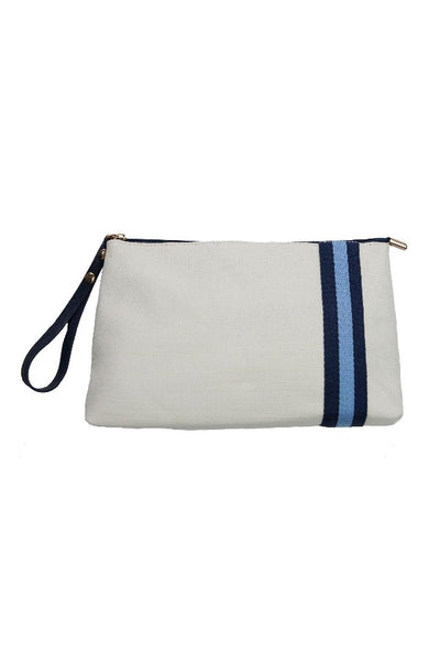 TRAVEL CLUTCH-NAVY