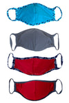 4 Pack of MASKs W/ FOAM INSERT-PK1