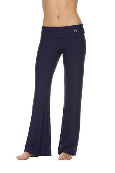 RESORT LOUNGE PANT-NAVY - MONOGRAM