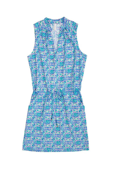 SANIBEL DRESS-SEAGLASS
