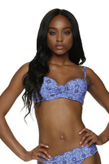 TWIST UNDERWIRE BRA-ANTIBES