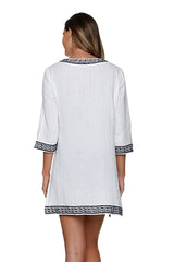 WHITNEY TUNIC-BLACK-WHITE