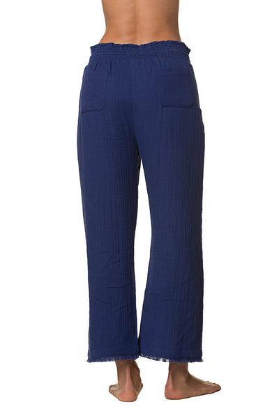 BEACHCOMBER ANKLE PANT-TANGIER BLUE