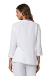 BEACHCOMBER HIP TUNIC-WHITE