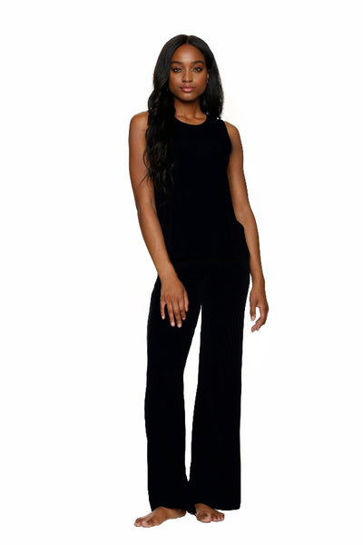 RESORT LOUNGE PANT-BLACK