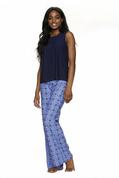 FOLD-OVER BEACH PANT-ANTIBES-UPF 50+