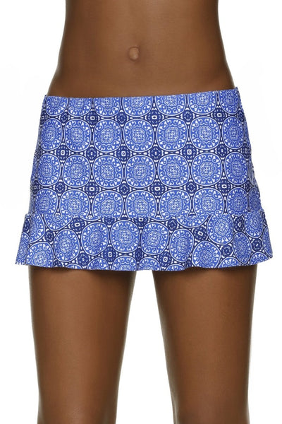 WAVE HEM SKIRTED HIPSTER-ANTIBES