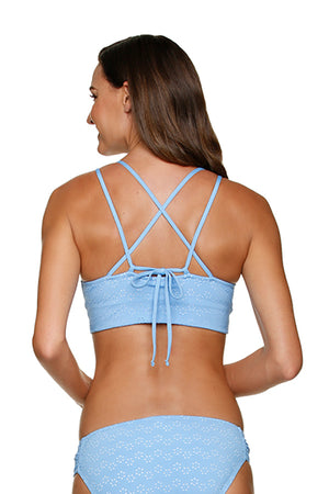 DRAPER JAMES ❤️HELEN JON RETREAT BRA - DERBY EYELET
