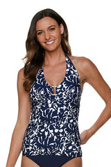 TORTOISE TANKINI-PALM BEACH