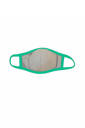 MASK W/ FOAM INSERT-KELLY GREEN
