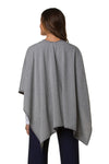 MAXWELL WRAP-HEATHER GREY
