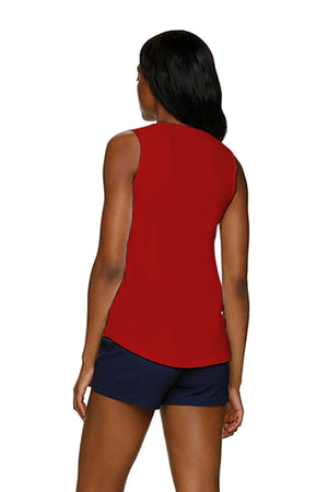 KEY WEST TANK-TOPSAIL RED