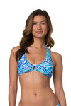 SHELL HALTER-BLUE GROTTO