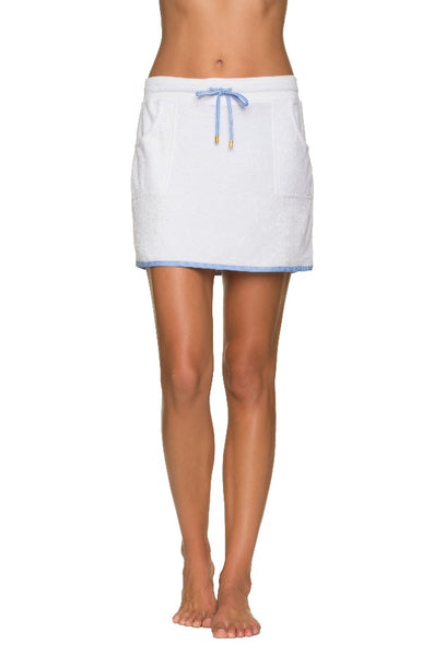 COURTNEY SKIRT TERRY COVER-UP-ST KITTS