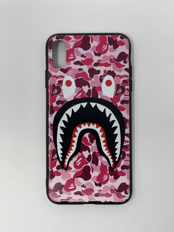 Shark Face Case (Pink)