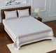 Superb Ghar 115 TC Cotton Single Printed Bedsheet With Pillow Cover