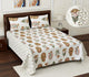 Superb Ghar 115 TC Cotton Single Printed Bedsheet Without Pillow Cover  (Pack of 1)