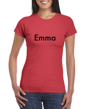 "Load image into Gallery viewer, ""Emma"" Womens T-shirt"