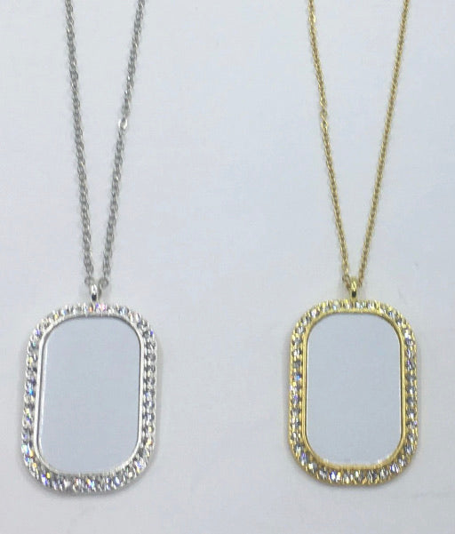 Bling Dog Tags
